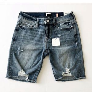 Sneak Peek Distressed Bermuda Short